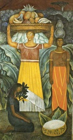 Tehuana Women by: Diego Rivera
