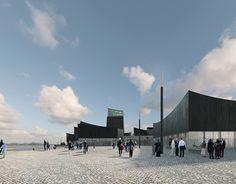 Projeto do escritorio francês  Moreau Kusunoki Architectes, vencedor de concurso internacional para Guggenheim da Finlândia