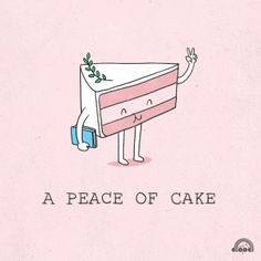 Have your cake... and world peace too
