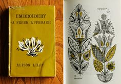 vintage book on embroidery by Alison Lily via colorandsound.blogspot.com