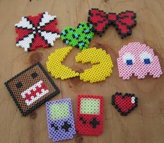 I am obsessed with new, random perler bead designs. I kinda get paid to do these at work...and the kids LOVE them.