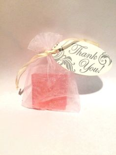 Soap 2'x2' perfect Thank You gift for baby by BeEarrings on Etsy