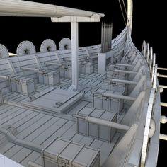 Viking Dragon, Viking Ship, Viking Age, Viking Longship, Lego Ship, Wooden Ship, 3d Models, Model Ships, Picts