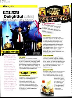 Electric Music SA brings Avicii to SA - Glamour magazine. #ElectricMusicSA #Avicii #music