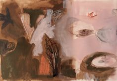 mixed media on paper Mixed Media, Paintings, Landscape, Abstract, Paper, Artwork, Summary, Scenery, Work Of Art