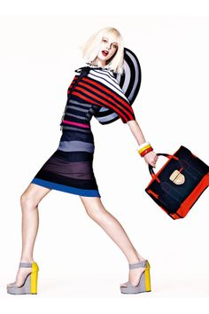 Ready to go spring shopping? Shop these colorful stripes to brighten up your wardrobe this season.
