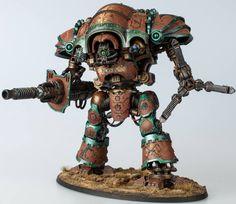 Warhammer 40k   Imperial Knight   Mechanicum Knight Magaera #warhammer #40k…