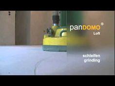 panDOMO Loft flooring installation.
