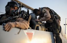 Iraqi and U.S. pilots prepare to fly last joint training flight, Camp Speicher, Iraq U.S. Air Force (Christopher Meares)