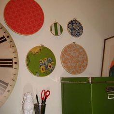 embroidery hoop corkboards