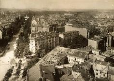 Blick vom Rathaus Charlottenburg 1910