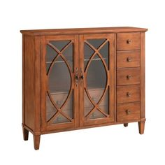 World Menagerie Brevard 2 Door Accent Cabinet