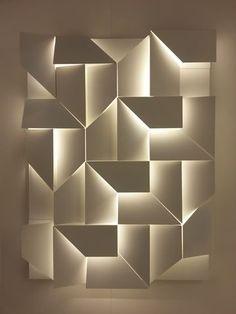 Antonella Fraccalvieri Picture gallery is part of Feature wall design - 3d Interior Design, Bathroom Interior Design, Interior Decorating, Bathroom Designs, Bathroom Ideas, Interior Lighting, Lighting Design, Feature Wall Design, Wall Panel Design