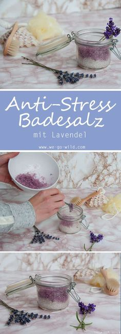 Badesalz selber machen – 3 DIY Rezepte zum Entspannen Making bath salts yourself is not difficult. Depending on the complaint, different ingredients are added. Our bath salt helps against stress. The bath additive is also ideal as a DIY gift. Crafts To Sell, Diy And Crafts, Wallpaper World, Make Your Own Makeup, Diy Y Manualidades, Diy Tumblr, Navidad Diy, Fete Halloween, 242