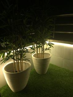 Transformar terraza ikea runnen artificial cesped grass for Cesped artificial ikea
