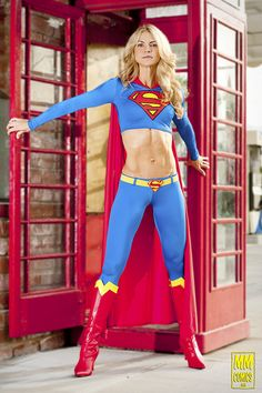 Supergirl Version: Pantys. From: Superman DC Comic Series. Cosplay By: Amanda Cramer. Event: Comikaze 2012. Photo: Crocksrule 2012.