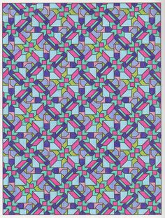 Tesselation patterns 010 from Creative Haven