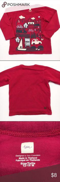 Tea Collection long sleeve shirt Tea Collection long sleeve graphic tee. Size 12-18 months. EUC! Tea Collection Shirts & Tops Tees - Long Sleeve