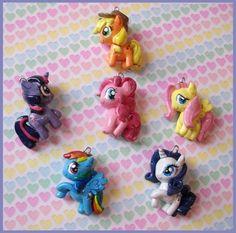 Chibi-Charms: My Little Pony originals by ~MandyPandaa on deviantART