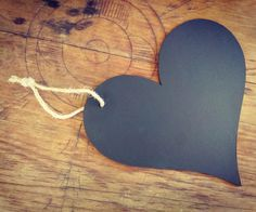 Large Chalkboard Heart Sign With Hang Loop - Wedding/Engagement/Pregnancy Photography Prop by CookeAndCo on Etsy
