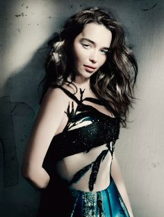 Emilia Clarke by Paolo Roversi for Vogue UK May 2015