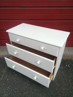 Finished - Furniture Restoration - By Upcycle Interiors ltd Set Of Drawers, Simple Furniture, Furniture Restoration, White Paints, Building Design, Natural Wood, Upcycle, Interiors, Architecture