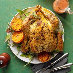 Savory Roasted Chicken