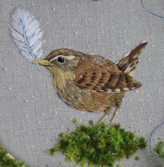 Flower Embroidery Designs, Modern Embroidery, Embroidery Hoop Art, Cross Stitch Embroidery, Embroidery Patterns, Thread Painting, Needlework, Sewing, Projects