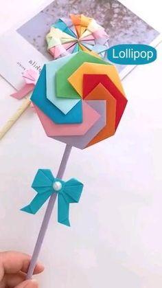 Diy Crafts For Teens, Diy Crafts Hacks, Diy Crafts For Gifts, Diy Crafts Videos, Creative Crafts, Craft Ideas, Cool Paper Crafts, Paper Crafts Origami, Fun Crafts