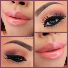 Beauty Tip on Pink make-up by Georgiana Carmina. Check out more Makeup on Bellashoot. Peach Makeup, Love Makeup, Makeup Tips, Makeup Looks, Hair Makeup, Makeup Ideas, Coral Makeup, Sexy Makeup, Gorgeous Makeup