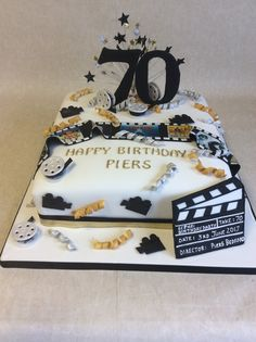 53 Best Black Amp Gold Silver Theme Cakes Images Silver Theme Special Celebrations Themed Cakes
