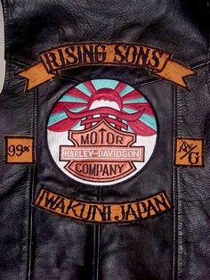 #ugurbilgin #UniTED #Riders #Brotherhood of #Turkey   #motorcycle   rising sun mc japan