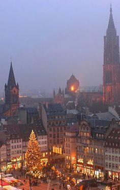 Strasbourg Christmas market, Alsace, France