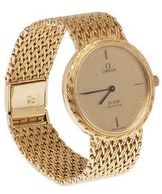 Kojis - Vintage Omega Gold Wrist Watch