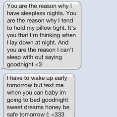 good night text for your girlfriend