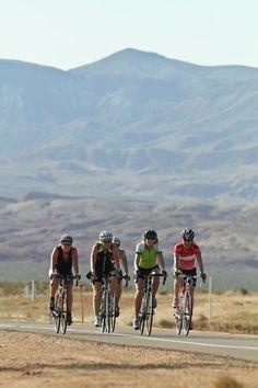 women cycling in southern Utah