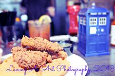 Chicken and Waffles + A Bloody Mary + A Tardis ...   August, 2013