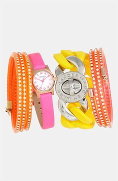 MARC BY MARC JACOBS Watch & Bracelets