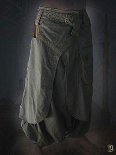 Dervish Pants by CyberGypsyFashion on Etsy, $135.00