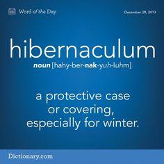 hibernaculum