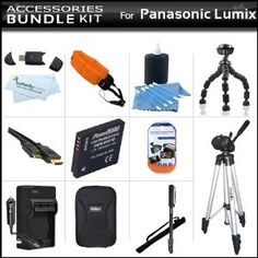 All In Accessory Bundle Kit For Panasonic Lumix DMC-TS3, DMC-TS2 Waterproof Digital Camera Includes Panasonic DMW-BCF10 Replacement Extended (1200 Mah) Battery + Charger + USB Card Reader + Case + Tripod + Floating Strap + Micro HDMI Cable + Much More (Electronics)  http://ruskinmls.com/pinterestamz.php?p=B004HLN64K  B004HLN64K