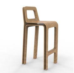 SKIN stool - designed by julien Vidame #tabouret #stool #wood #bois #oak #chene #doubleskin #doublepeau #ouvert #open #aerien #aerial #julienvidame #vidamestudio #newproject #nouveauprojet #rennes #bretagne #designer #productdesign