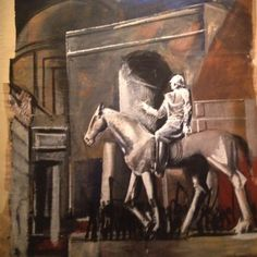 Mario Sironi, Condottiere a cavallo, 1934