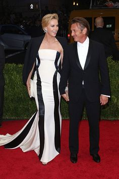 The Met Ball's Cutest Couples #refinery29  http://www.refinery29.com/2014/05/67447/met-ball-cutest-couples#slide2  Charlize Theron & Sean PennLadies and gentleman, behold Hollywood's newest power couple. Fans have had to subsist on paparazzi shots of Theron and Penn at the grocery store or on vacation, but now there's real-life, red-carpet proof that they're madly in love.