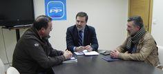 Reunión con representantes del sector mejillonero