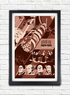Babylon 5  Season ONE  2258  17x11 Poster by bensmind on Etsy