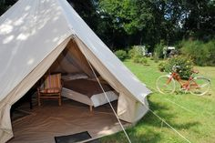 Foto: Fred Tanneau / AFP glamping