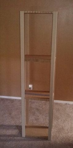 Shelf made of cardboard