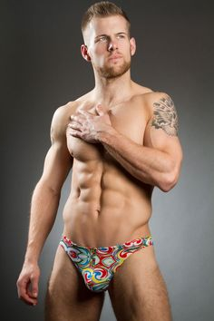 The 'Lollipop' mini brief from Doreanse is everything you want from summer underpants. Fun, bright, an ultra-sleek fit with a smooth finish, the super swirly print is a real treat for the eyes. Doreanse 1245 Slip Micro Brief £10.00 https://www.deadgoodundies.com/doreanse-1245-mens-slip-micro-brief