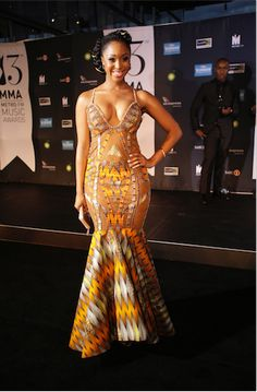 Metro fm awards celebrity outfits with paint
